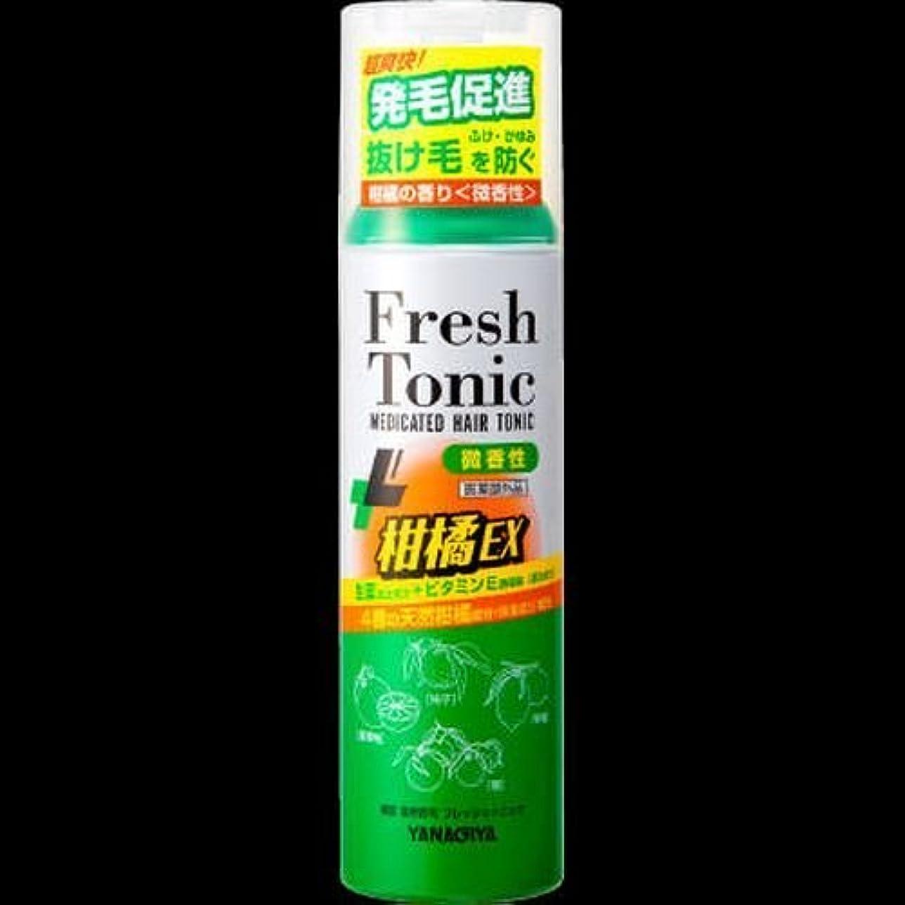 気晴らしステップ緯度【まとめ買い】柳屋 薬用育毛 フレッシュトニック 柑橘EX <微香性> 190g ×2セット