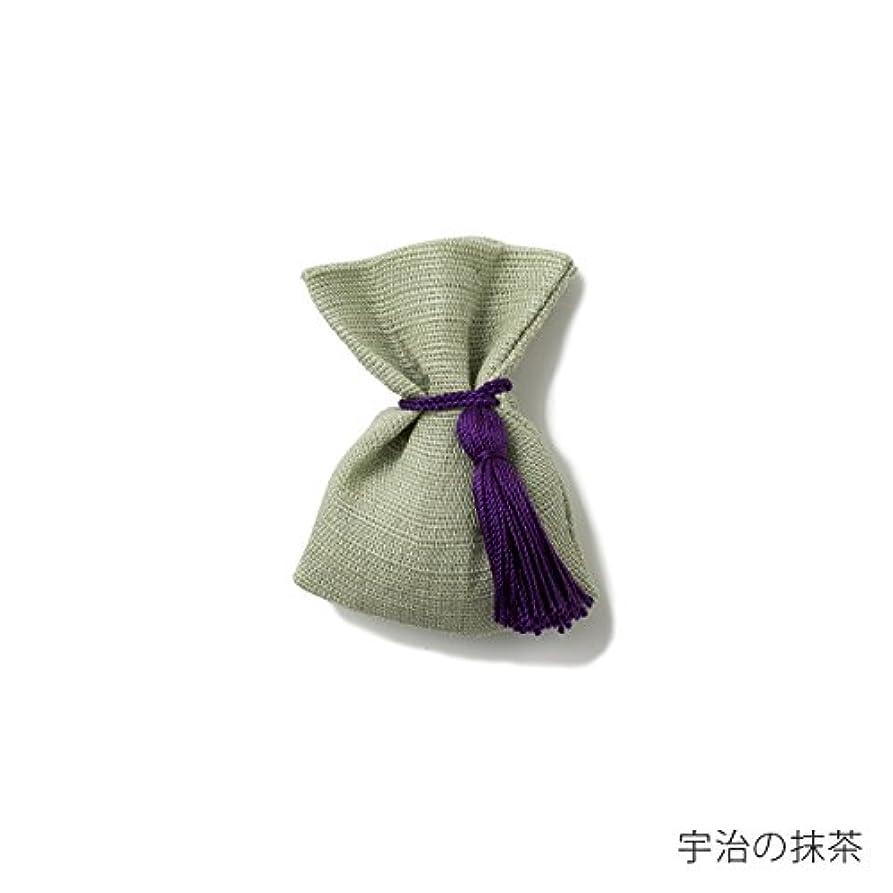 ガロンにはまってシンプルな【薫玉堂】 京の香り 香袋 宇治の抹茶