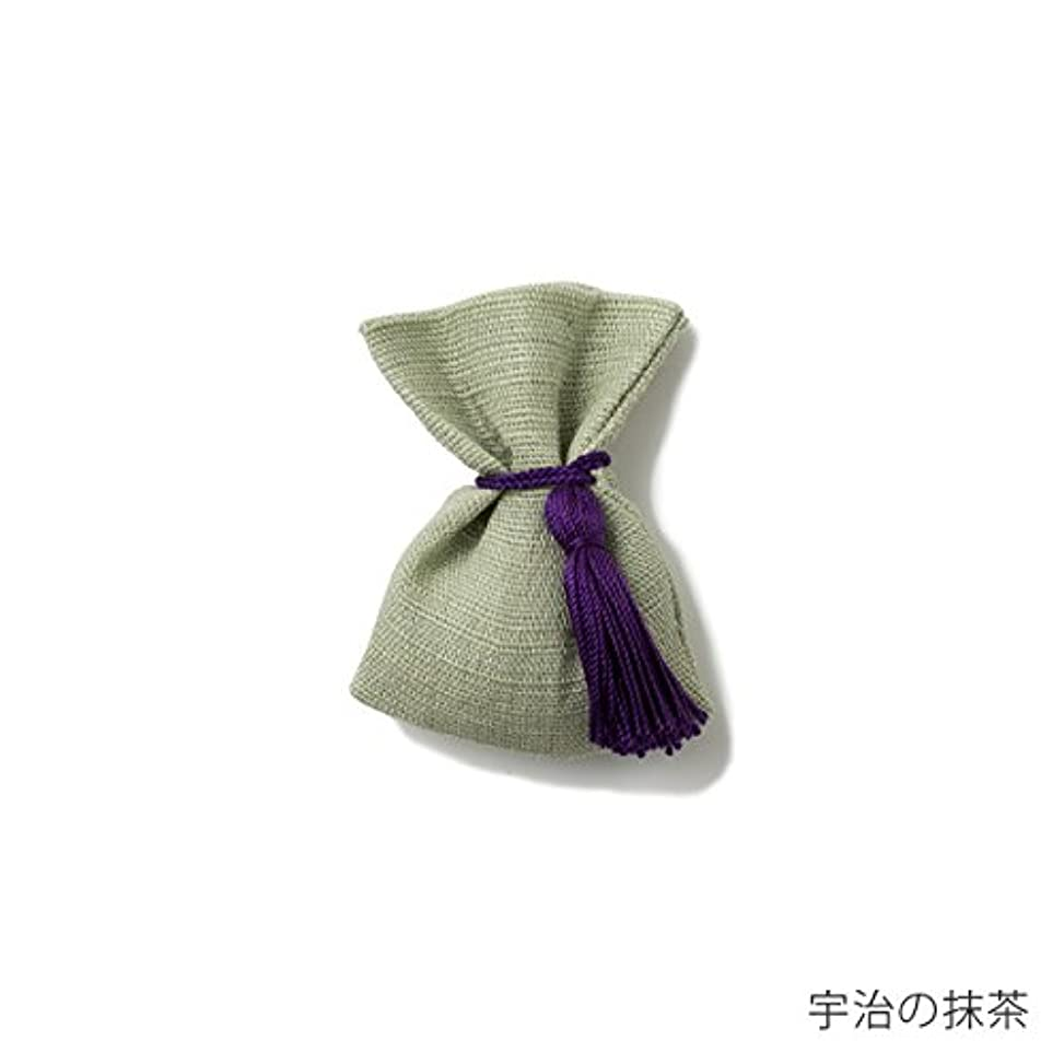 セレナあいまいな文【薫玉堂】 京の香り 香袋 宇治の抹茶