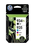 HP純正カートリッジ4er Multipack 934XLおよび935XL C/M/Y/K(X4E14AE#301)