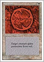 英語版 サマーマジック Summer Magic Edgar 赤の護法印 Red Ward マジック・ザ・ギャザリング mtg