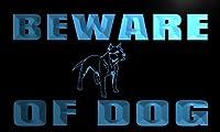 LED看板 ネオンプレート サイン 電飾・店舗看板・標識・サイン カフェ バー ADV PRO n129-b Beware of Dog Neon Light Sign