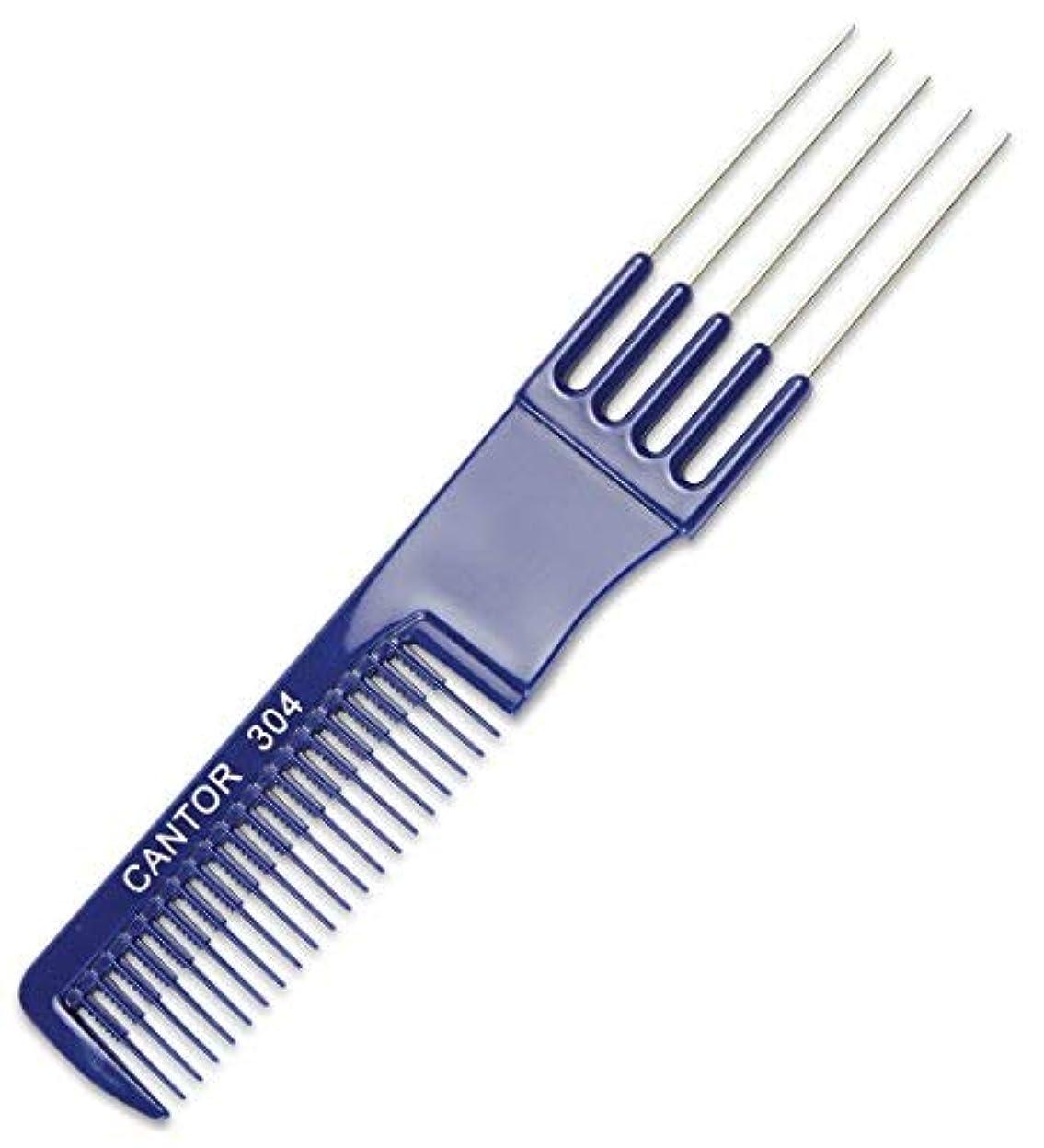 ユーザー忘れられないフィドルTeasing Comb With Metal Lifts - 6  Plastic Teaser Rake and Stainless Steel Lifting Prongs ? Heat and Chemical...