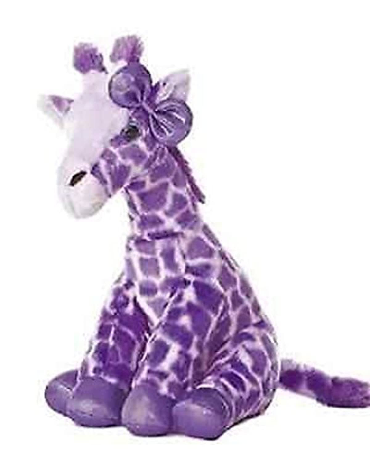 12インチGirlz NationパープルGiraffe Plush Stuffed Animal