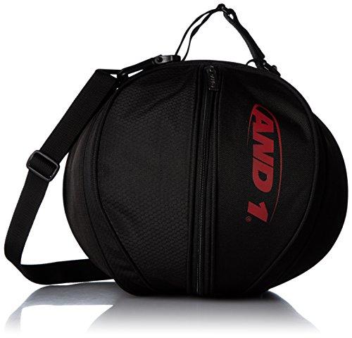 [アンドワン] ボールケース バスケット用ボールバック 599783 83 83 BLACK/RED