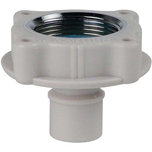 洗濯機用 取替簡単ニップル 呼13 自在水栓 対応 給水ホースをワンタッチ接続 樹脂製 7723