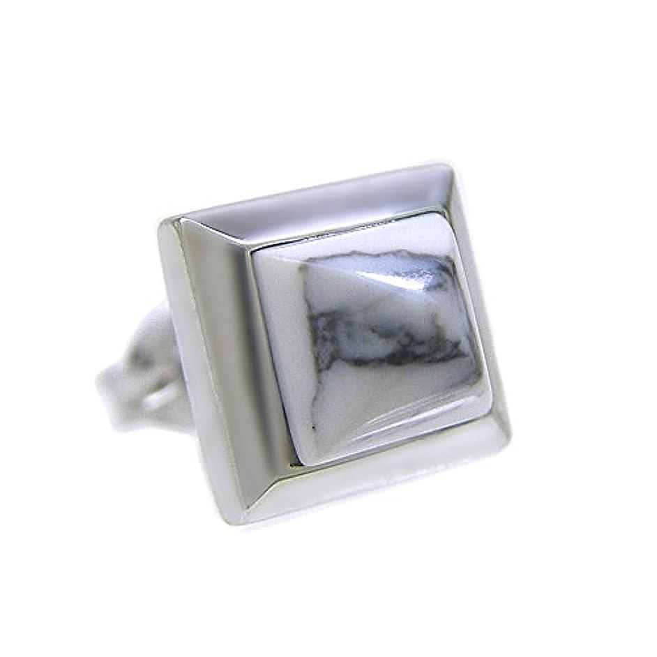 ホイッスル文字スリップ[ニコル] NICOLE シングルピアス メンズ シルバー925 ホワイトハウライト NC-LP277P