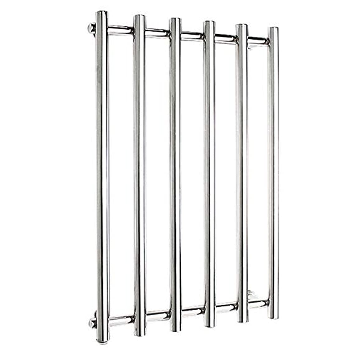 304ステンレス鋼電気タオルラジエーター、壁掛け式電気タオルウォーマー、バスルームハードウェアアクセサリー、ポリッシュクローム、恒温乾燥、810x540x110mm
