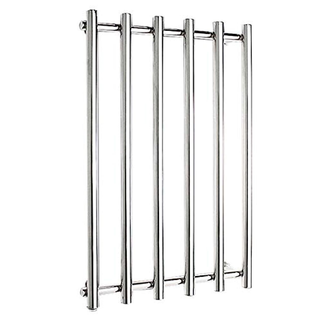 カニ希少性入浴304ステンレス鋼電気タオルラジエーター、壁掛け式電気タオルウォーマー、バスルームハードウェアアクセサリー、ポリッシュクローム、恒温乾燥、810x540x110mm