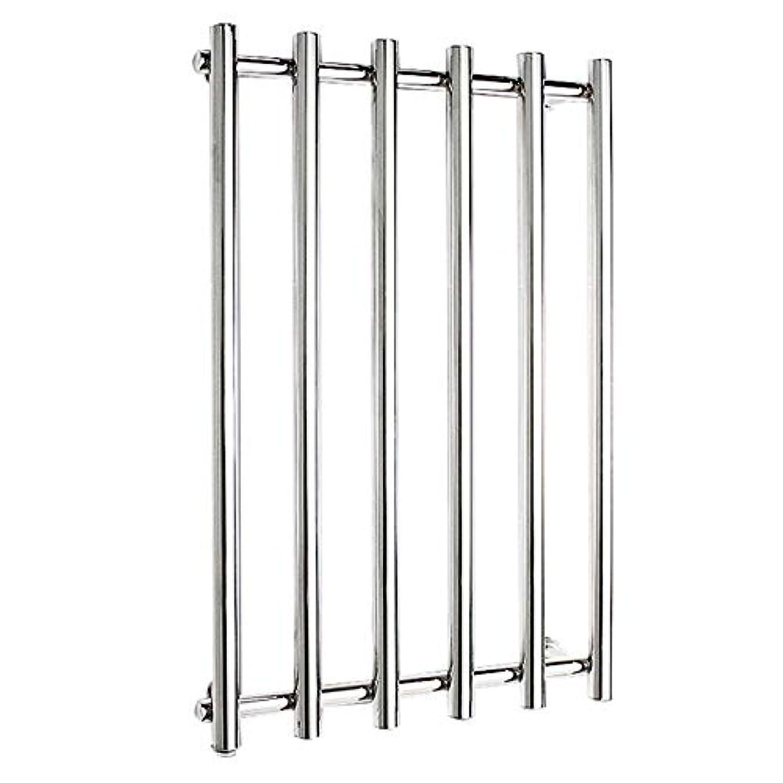 倒産言うクリップ304ステンレス鋼電気タオルラジエーター、壁掛け式電気タオルウォーマー、バスルームハードウェアアクセサリー、ポリッシュクローム、恒温乾燥、810x540x110mm