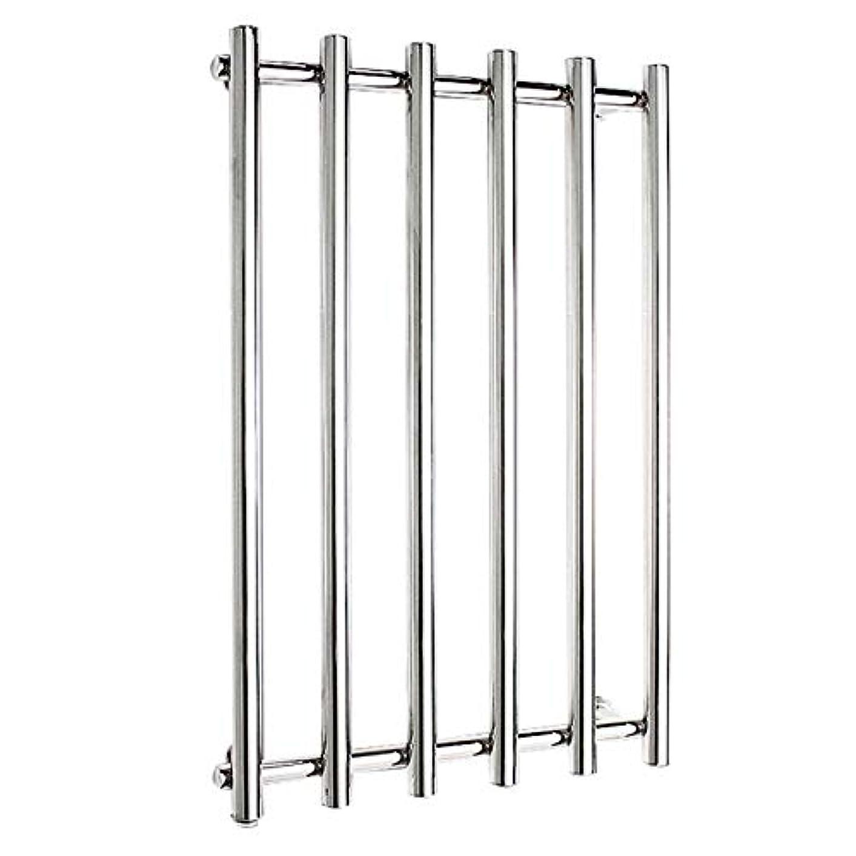 同化するねじれオーロック304ステンレス鋼電気タオルラジエーター、壁掛け式電気タオルウォーマー、バスルームハードウェアアクセサリー、ポリッシュクローム、恒温乾燥、810x540x110mm