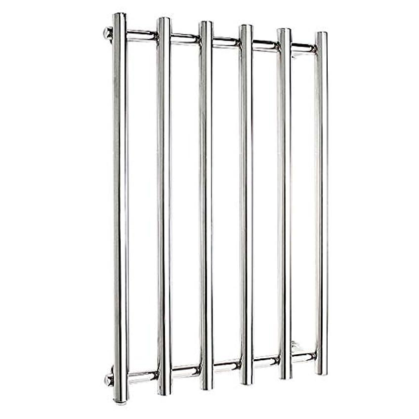 商品裏切るプラスチック304ステンレス鋼電気タオルラジエーター、壁掛け式電気タオルウォーマー、バスルームハードウェアアクセサリー、ポリッシュクローム、恒温乾燥、810x540x110mm