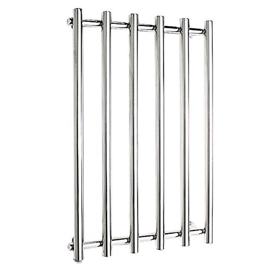 うれしい冷笑する仮定する304ステンレス鋼電気タオルラジエーター、壁掛け式電気タオルウォーマー、バスルームハードウェアアクセサリー、ポリッシュクローム、恒温乾燥、810x540x110mm