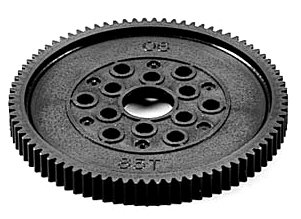 R/C SPARE PARTS SP-893 TA04 スパーギヤ(06ピッチ)