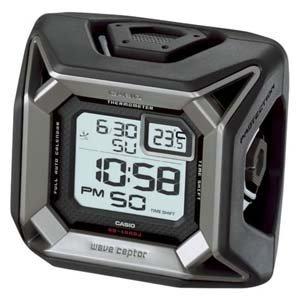 CASIO (カシオ) 目覚し時計 WAVE CEPTOR ウェーブセプター デジタル 電波時計 温度表示 壊れにくい安心設計 GQ-1000J-8JF