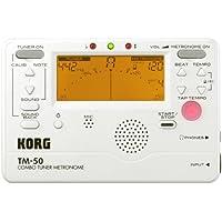 KORG チューナー/メトロノーム  TM-50 PW パールホワイト