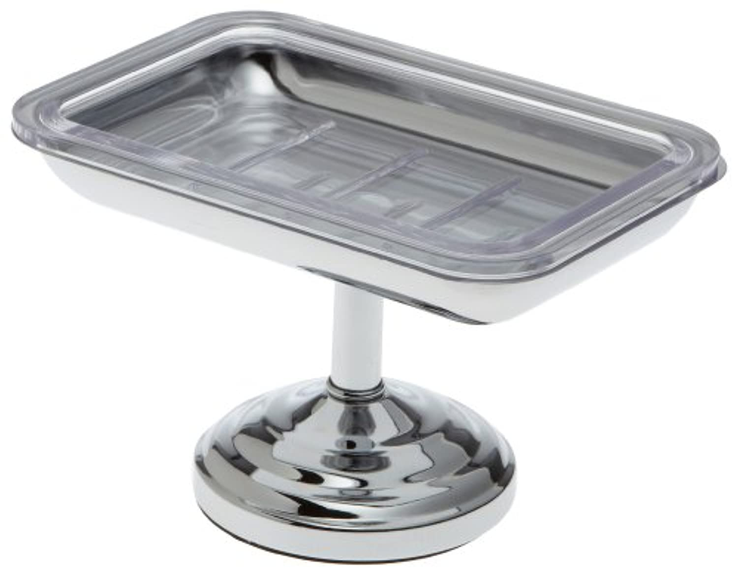 Taymor Pedestal Soap Dish, Chrome by Taymor Industries