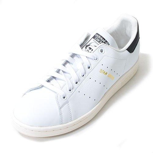 adidas ORIGINALS(アディダス オリジナルス) スニーカー スタンスミス STAN SMITH メンズ レディース 23.5cm ホワイト/ブラック stan-smith-b-235-S75076