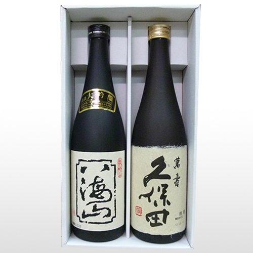 人気新潟銘酒飲み比べギフトセット 720 ml×2本八海山大吟醸,久保田萬寿、新品商品です。
