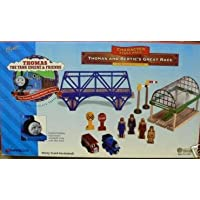 Thomas & Friends Wooden Railway - Thomas and Bertie's Great Race Limited Edition Set by Thomas & Friends [並行輸入品]