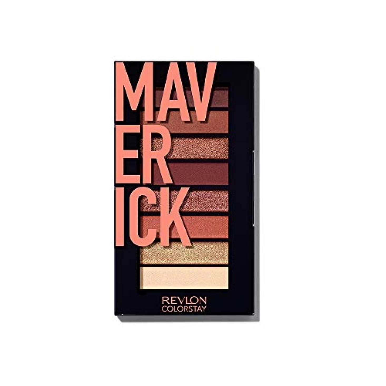 適合するシェトランド諸島感情のレブロン カラーステイ ルックス ブック パレット 930 マーベリック(カラーイメージ:オレンジブラウン系) アイシャドウ 930マーベリック 3.4g