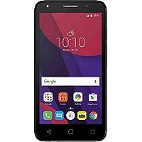 ALCATEL PIXI4 SIMフリー スマートフォン (ドコモ系 SIM対応) 5045F-2FALJP1 ダークグレー Android6.0 LTE対応 国内正規品