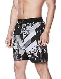 (ナイキ) Nike メンズ 水着?ビーチウェア 海パン Nike Drift Graffiti Breaker Swim Trunks [並行輸入品]