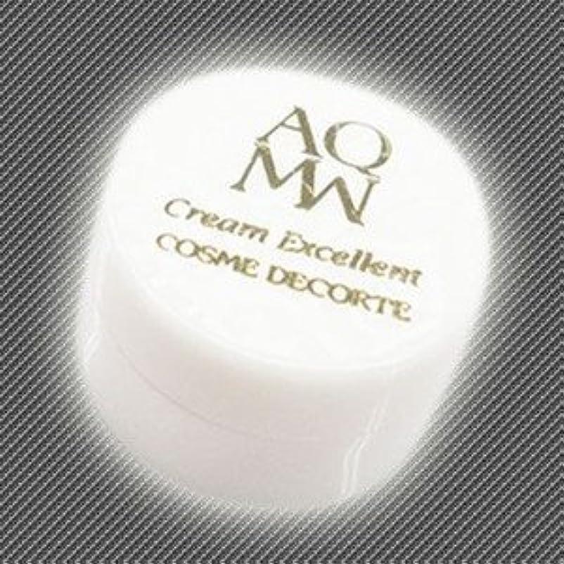 序文代名詞孤独なコスメデコルテ AQ MW クリームエクセレント 2.4ml(ミニ)