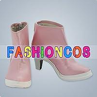 ★サイズ選択可★女性23CM UA0213 アイドルマスター THE IDOLM@STER 水瀬 伊織 コスプレ靴 ブーツ