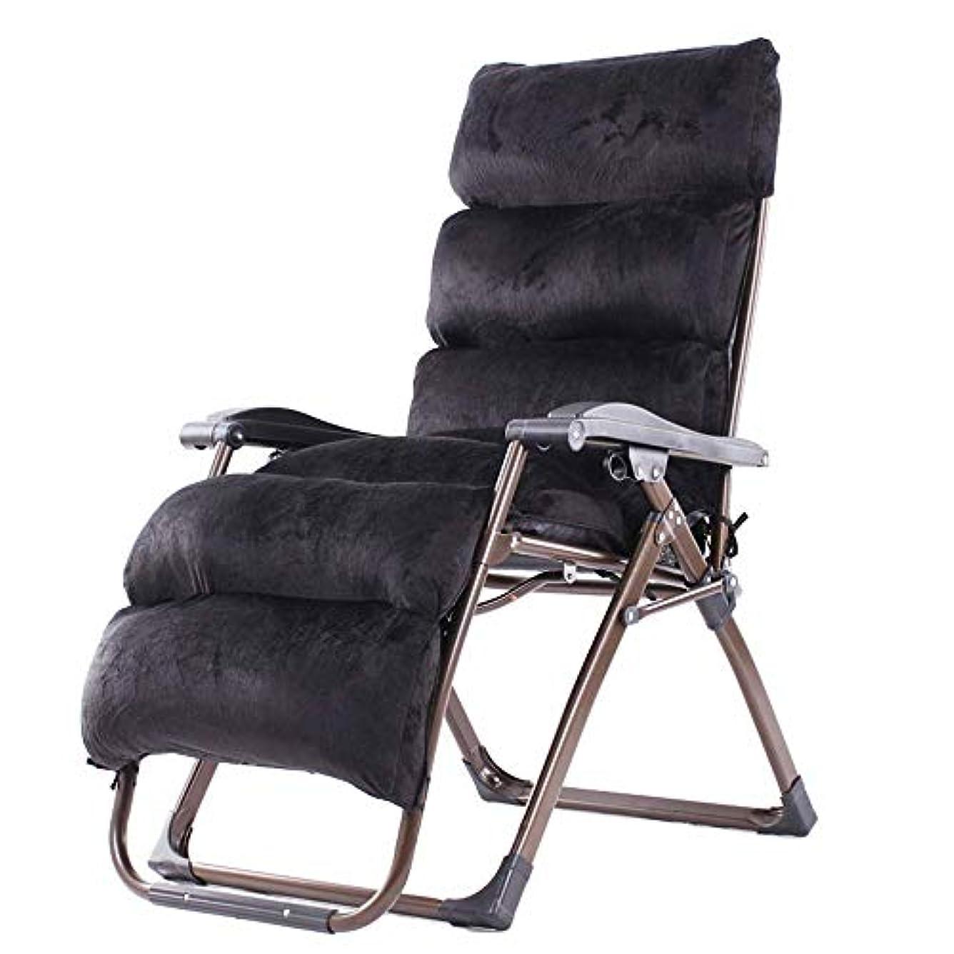 日付付き限られた南ラウンジチェア、ゼロ重力椅子屋外ラウンジパティオチェアクッション付き調節可能な折りたたみリクライニングチェア用デッキパティオビーチヤードサポート350ポンド黒