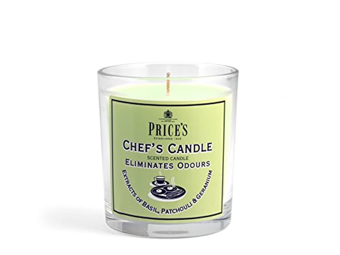 愛情常習者脅かすPrice′s(プライシズ) Fresh Air CANDLE TIN Jar type (フレッシュエアー キャンドル ジャータイプ) CHEF'S(シェフズ)