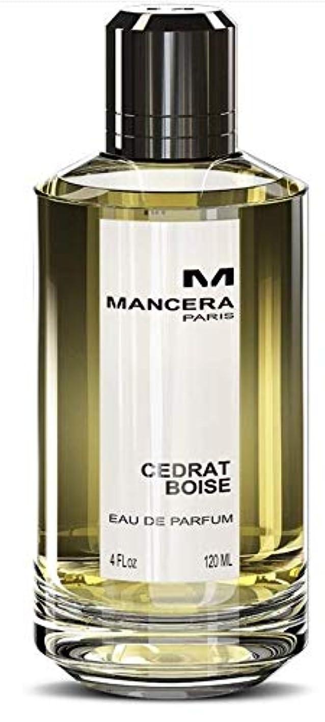 効果にんじんメンタリティMancera Cedrat Boise Eau de Parfum 4.0 oz./120 ml New in Box