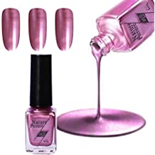 (C) - Yuan Mirror Nail Polish,Metallic Mirror Effect Stainless Steel Solid colour No sequins (C)