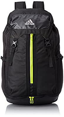 [アディダス] adidas オプスミッドバックパック 35L KBP58 AH6870 (ブラック/セミソーラーイエロー)
