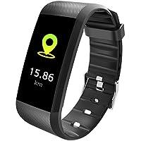 スマートウォッチ 心拍計 スマート ブレスレット 血圧測定 歩数計 腕時計 活動量計 リストバンド 着信通知 睡眠検測 I67防水 ブルートゥース同期 iPhone Android 日本語 対応 Tezer R11