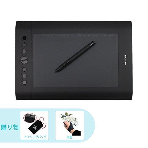 HUION ペンタブレット プロフェッショナル H610 P...