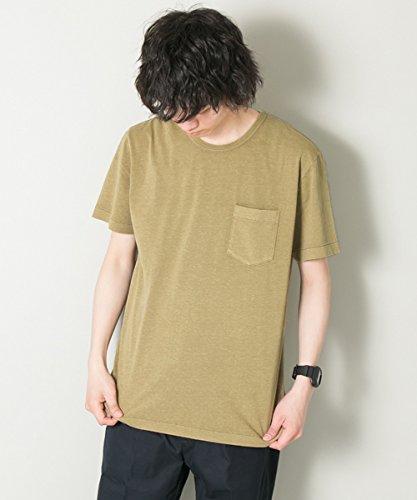 (アーバンリサーチ) URBAN RESEARCH 製品染めフェードカラーポケットTシャツ UR75-11M010 M ベージュ系その他