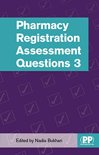 Pharmacy Registration Assessment Questions 3 (English Edition)