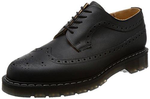 [ソロヴェアー] レースアップ 5 Eye American Brogue Shoe Classic Collection S5-812 Black Greasy UK 9(27.5 cm)