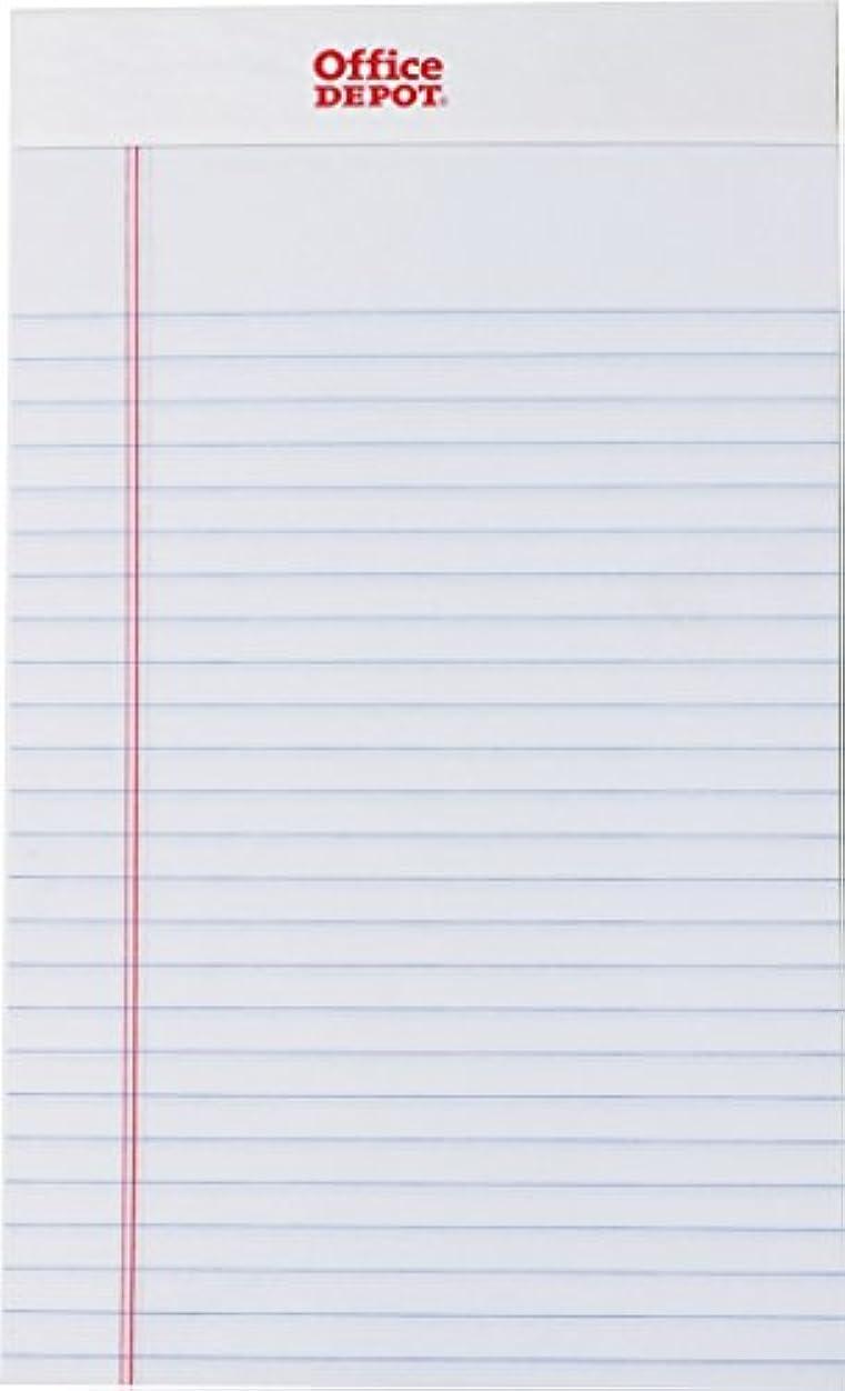 コンテンツ日付付き発生するOffice Depot メモ帳 メモパッド ジュニアサイズ ホワイト 12冊