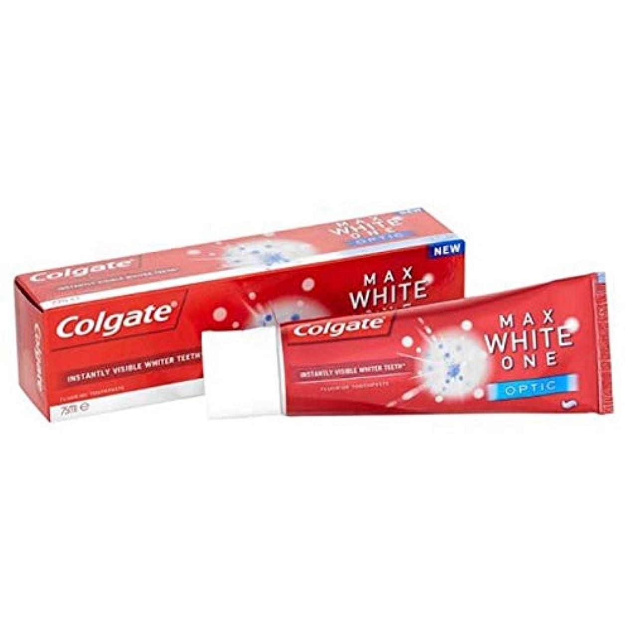 乞食強調サッカー[Colgate ] コルゲート最大白1つの光学歯磨き粉25ミリリットル - Colgate Max White One Optic Toothpaste 25ml [並行輸入品]