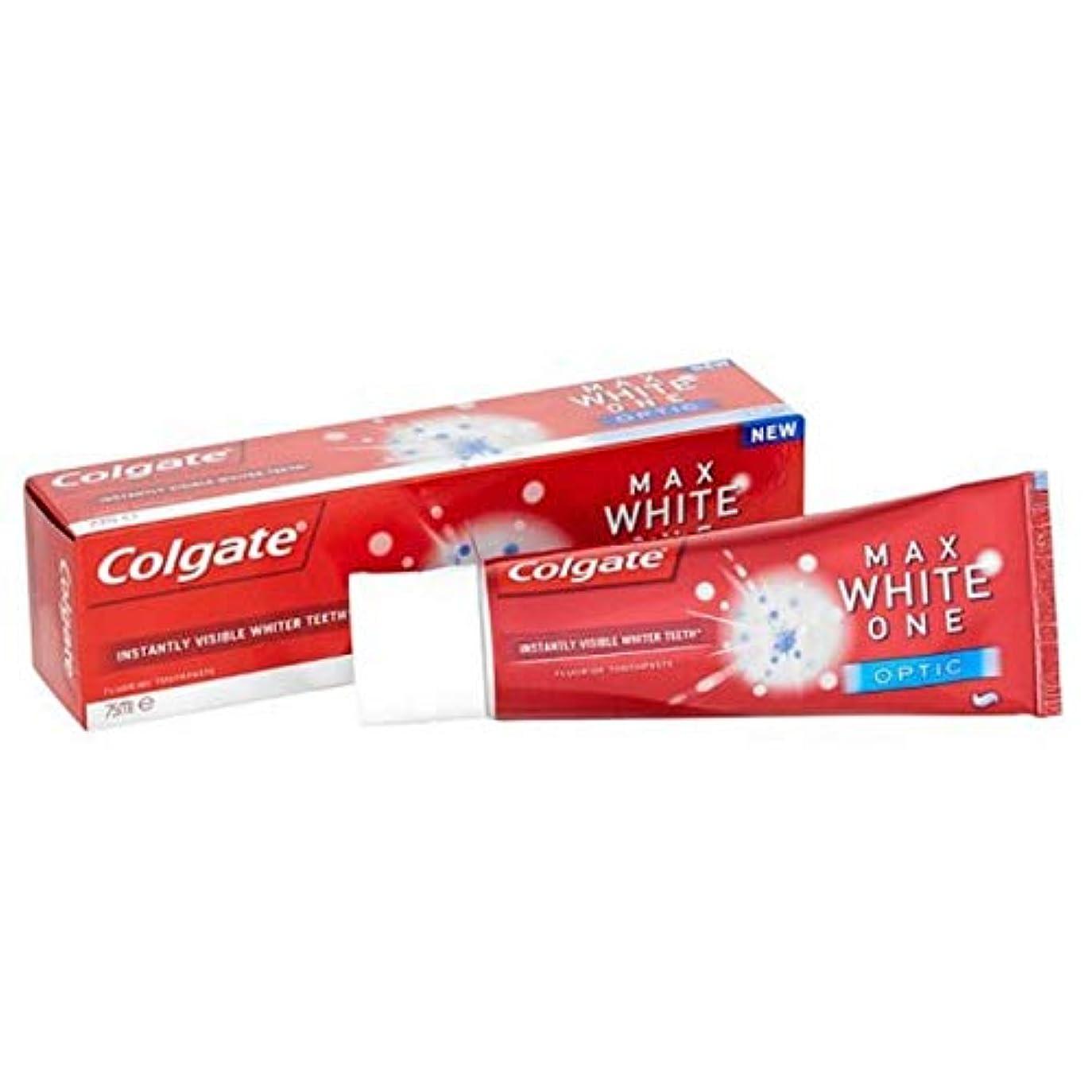 十一解体するあざ[Colgate ] コルゲート最大白1つの光学歯磨き粉25ミリリットル - Colgate Max White One Optic Toothpaste 25ml [並行輸入品]