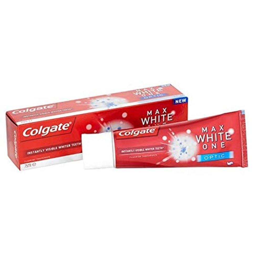 ランチカウンタ崩壊[Colgate ] コルゲート最大白1つの光学歯磨き粉25ミリリットル - Colgate Max White One Optic Toothpaste 25ml [並行輸入品]