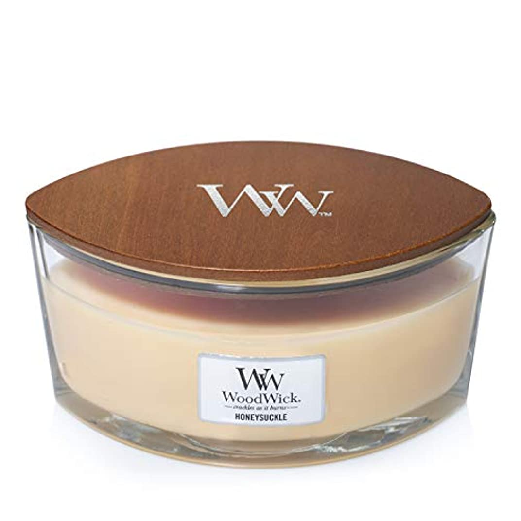 正確なラフ睡眠小麦Woodwick Candle Honeysuckle