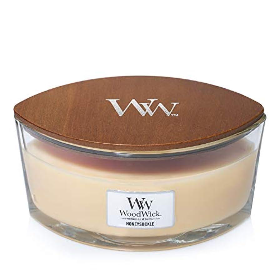 好意ポルトガル語包帯Woodwick Candle Honeysuckle