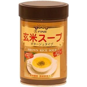 ファイン 玄米スープ(缶入り)200g