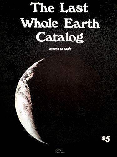 The Last Whole Earth Catalog ....access to tools-vintage book 【#1160】June 1971 - Stewart Brand
