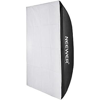 Neewer 撮影用ソフトボックス 50x70cm 四角形 光を柔らくする Neewer Godox 300DI 250DI 300SDI 250SDI 180Wスタジオライトに対応 (1個)