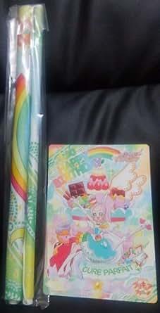 プリキュア プリティストア 限定 プリキュアアラモード キュアパルフェ バースデー B3 タペストリー 非売品 カード セット