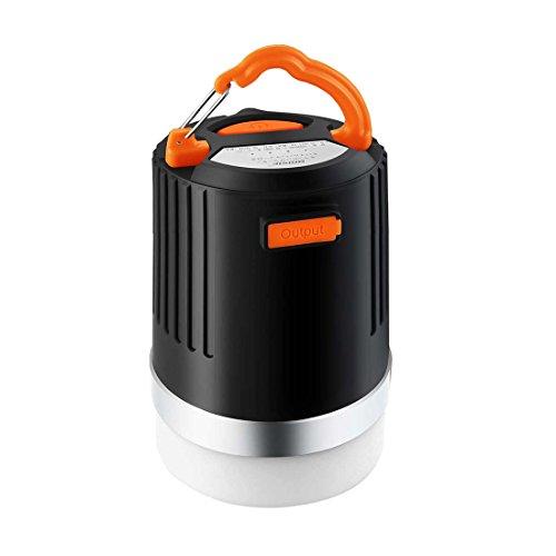 BRISIE LEDランタン 懐中電灯 アウトドアライト USB充電式 10000mAh モバイルバッテリー 4つ調光モード IP65 防水&防塵認証 防災・キャンプ用品